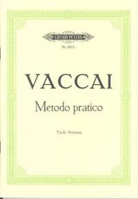 Vaccai: Practical Method Low voice