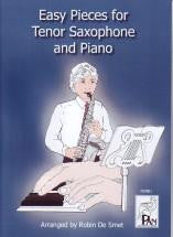 Easy Pieces for Tenor Saxophone & Piano