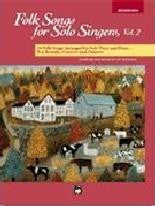 Folk Songs for Solo Singers - Med.high vol 2