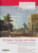 30 Italian Songs and Arias Med-High voice