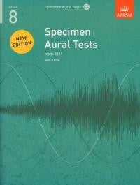Specimen Aural Tests Grade 8 with 2 CDs