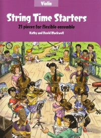 String Time Starters Violin Book