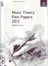 ABRSM Theory Papers Grade 5 2012