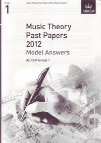 ABRSM Theory Model Answers Grade 1 2012