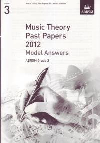 ABRSM Theory Model Answers Grade 3 2012