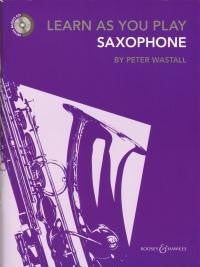 Learn As You Play Saxophone New Ed.