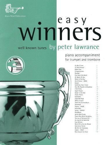 Easy Winners Piano Acc. Tpt/Trombone