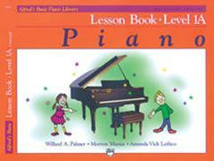 Alfred's Basic Piano Library - Lesson Bk Level 1A