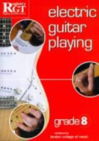 RGT Electric Guitar Playing Grade 8