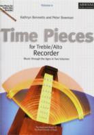 Time Pieces for Treble/Alto Recorder Vol 2