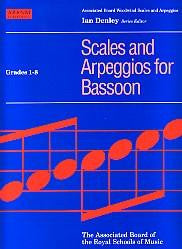 ABRSM Bassoon Scales & Arpeggios Gds 1-8
