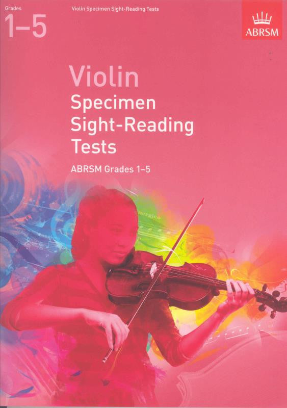 Violin Sight Reading Grades 1-5