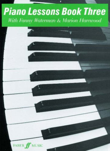 Piano Lessons Book Three