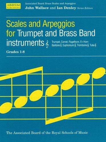 Trumpet and Brass Band Scales Grades 1-8
