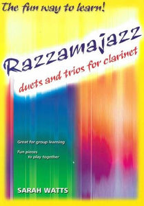 Razzamajazz duets and trios for clarinet