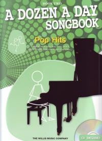 A Dozen A Day Songbook - Pop Hits Book 2