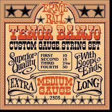 Ernie Ball Tenor Banjo Strings Medium