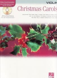 Hal Leonard Play-Along: Christmas Carols Violin