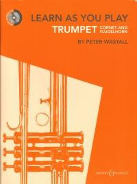 Learn As You Play Trumpet NEW with CD