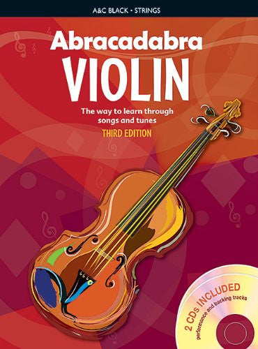 Abracadabra Violin with CD