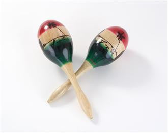 Maracas - Percussion Plus Tricolour