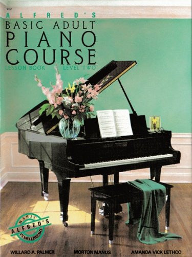 Alfred's Basic Adult Piano Course Lesson Bk 2