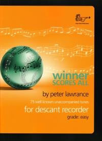 Winner Scores All - Descant Recorder
