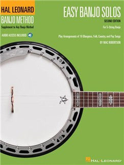 Easy Banjo Solos For 5-String Banjo – Second Edition (Book/Online Audio)