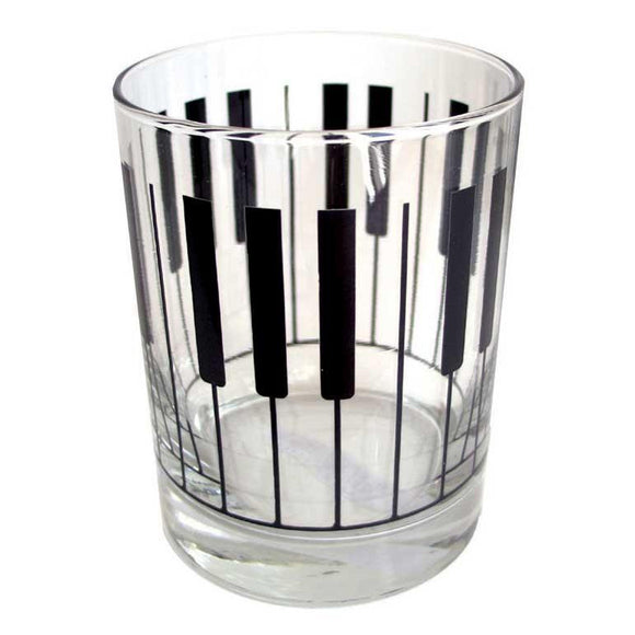 Glass Tumbler - Keyboard Design