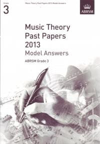 ABRSM Theory Model Answers Grade 3 2013