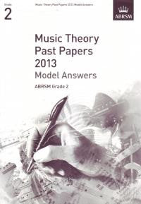 ABRSM Theory Model Answers Grade 2 2013