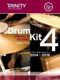 Trinity Drum Kit Pieces & Exercises Book 4
