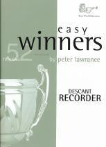 Easy Winners Descant Recorder Book only