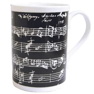 Bone China Mug - Manuscript design