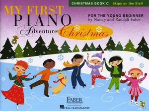 Nancy Faber/Randall Faber: My First Piano Adventure - Christmas (Book C - Skips On The Staff)