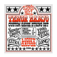 Ernie Ball Tenor Banjo Strings Light