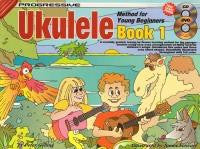 Progressive Ukulele Young Beginners Book 1