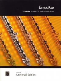 42 More Modern Studies for Solo Flute