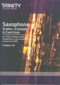 Trinity Saxophone Scales 1-8 2015 onwards