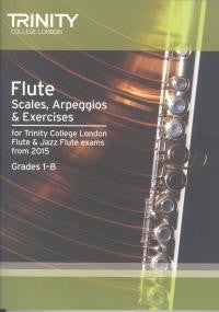 Trinity Flute Scales 1-8 from 2015 onwards
