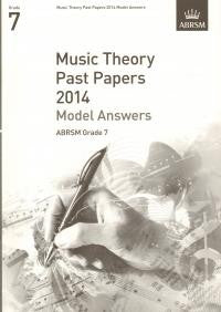ABRSM Theory Model Answers Grade 7 2014