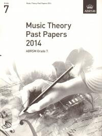 ABRSM Theory Papers Grade 7 2014