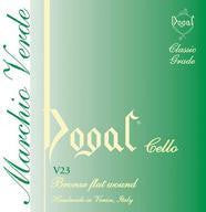 Dogal Cello String 'D2' 1/2 size Green
