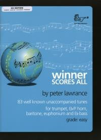 Winner Scores All Treble Brass with CD