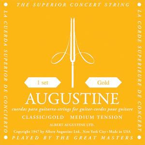 Augustine Classical Guitar Strings - Gold