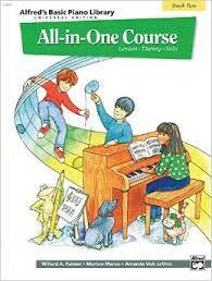 Alfred's Basic Piano Library All-in-One Book 2
