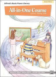 Alfred's Basic Piano Library All-in-One Book 3 new