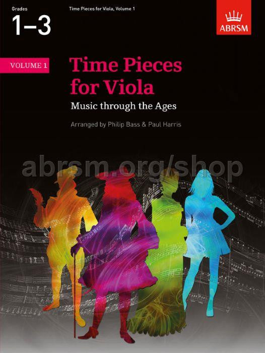 More Time Pieces for Viola Volume 1 - 2015 edition