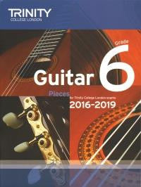 Trinity Guitar Grade 6 Pieces from 2016