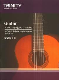 Trinity College Guitar Scales Gd6-8 from 2016